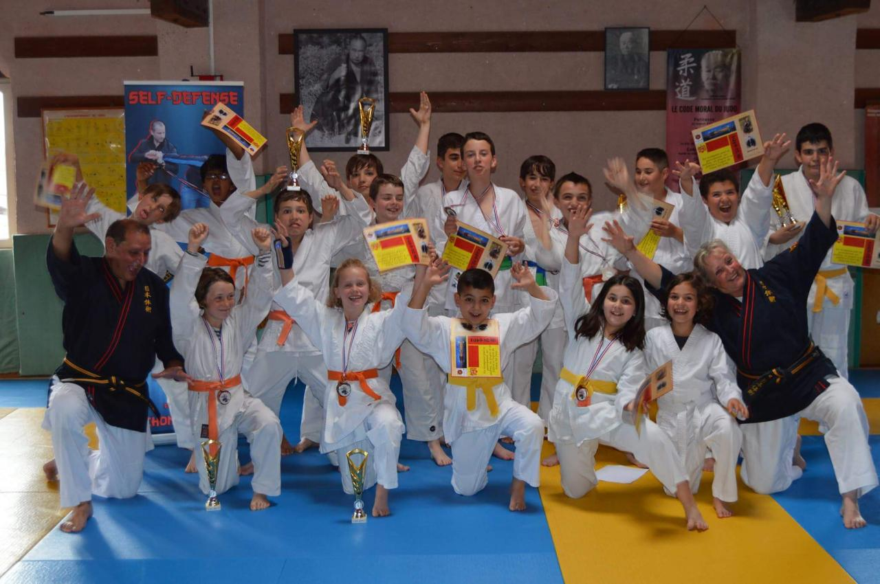 équipe Tai Jitsu kan 2017